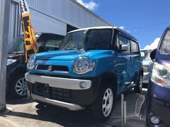 沖縄の中古車 スズキ ハスラー 車両価格 119万円 リ済込 平成27年 0.9万K ライトブルー