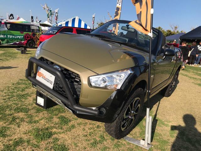 沖縄の中古車 ダイハツ コペン 車両価格 ASK リ済別 2015(平成27)年 4.6万km グリーンII