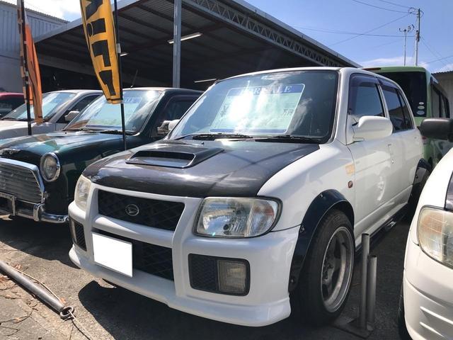 沖縄県の中古車ならミラ JBターボ 5MT FR オーバーフェンダー公認 Eg公認 5ナンバー登録 TRフェイス