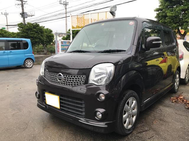 沖縄の中古車 日産 モコ 車両価格 39万円 リ済別 2012(平成24)年 11.7万km アーバンブラウンPM