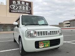 沖縄の中古車 スズキ アルトラパン 車両価格 49万円 リ済込 平成21年 9.9万K パールホワイト