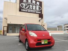 沖縄の中古車 ホンダ ライフ 車両価格 18万円 リ済込 平成17年 10.4万K レッド