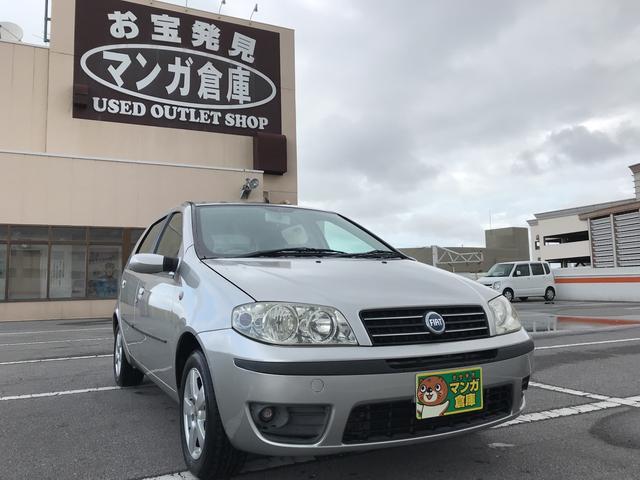 沖縄の中古車 フィアット フィアット プント 車両価格 38万円 リ済込 2005(平成17)年 6.5万km シルバー
