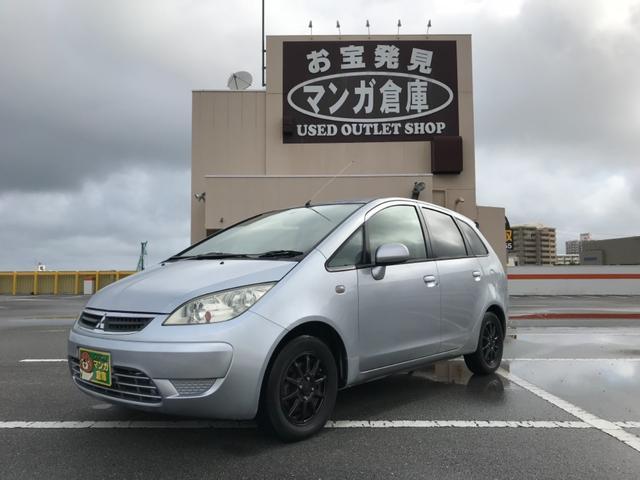 沖縄の中古車 三菱 コルトプラス 車両価格 22万円 リ済込 2005(平成17)年 10.0万km シルバー
