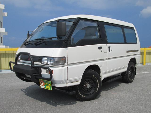 沖縄県浦添市の中古車ならデリカスターワゴン スターワゴン ディーゼルターボ車 4WD 5人乗り