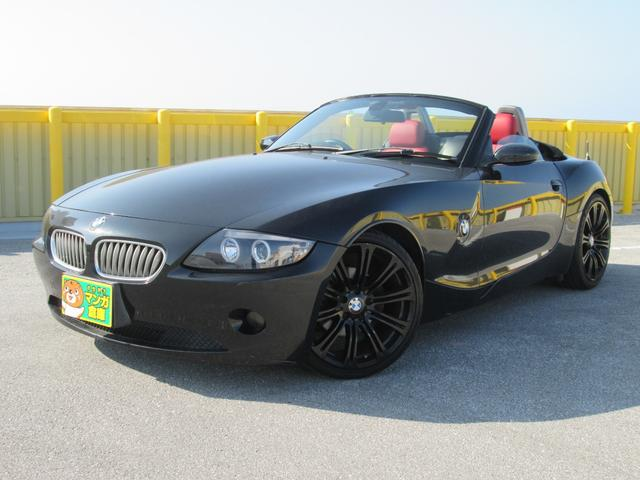 沖縄の中古車 BMW BMW Z4 車両価格 80万円 リ済込 2004(平成16)年 15.6万km ブラックM