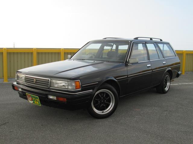 沖縄県の中古車ならマークIIワゴン LGグランデエディション 社外アルミ 社外オーディオ