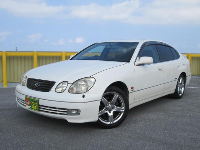 沖縄県浦添市の中古車ならアリスト S300ベルテックスエディション パールホワイト