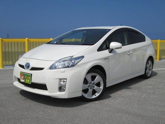 沖縄の中古車 トヨタ プリウス 車両価格 69万円 リ済込 2009(平成21)年 13.5万km パールM