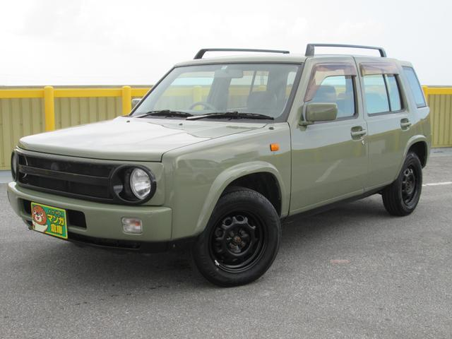 沖縄の中古車 日産 ラシーン 車両価格 75万円 リ済込 1998(平成10)年 17.2万km グリーングレー
