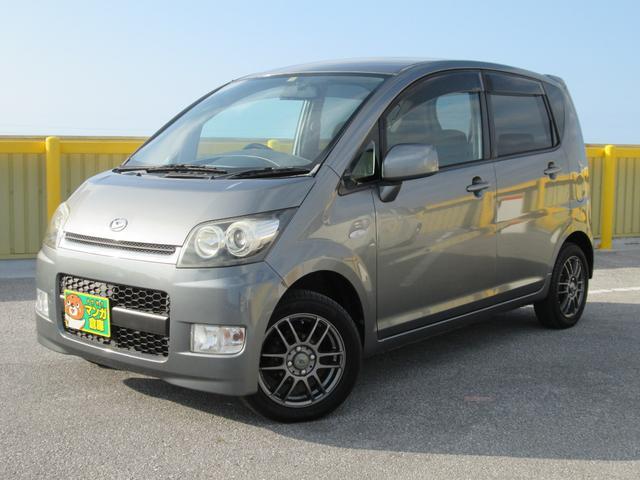 沖縄の中古車 ダイハツ ムーヴ 車両価格 25万円 リ済込 2006(平成18)年 11.9万km ガンM