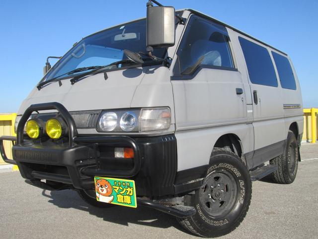 沖縄の中古車 三菱 デリカスターワゴン 車両価格 90万円 リ済込 1996(平成8)年 14.2万km グレー