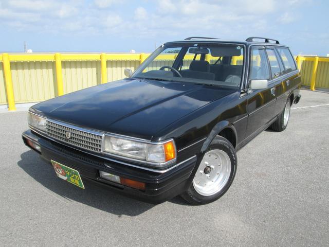 沖縄県浦添市の中古車ならマークIIワゴン LGグランデエディション 社外アルミ 社外オーディオ タイベル交換済み