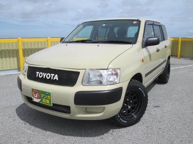 沖縄の中古車 トヨタ サクシードバン 車両価格 120万円 リ済込 2007(平成19)年 10.0万km 特色