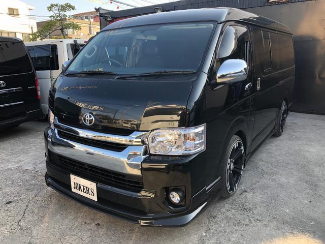 沖縄の中古車 トヨタ ハイエースバン 車両価格 218万円 リ済込 平成21年 18.0万km ブラック