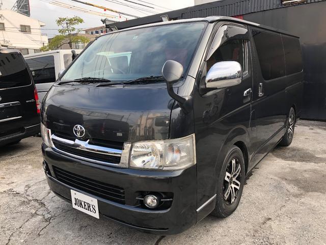 沖縄の中古車 トヨタ ハイエースバン 車両価格 118万円 リ済込 平成19年 20.8万km ガンM