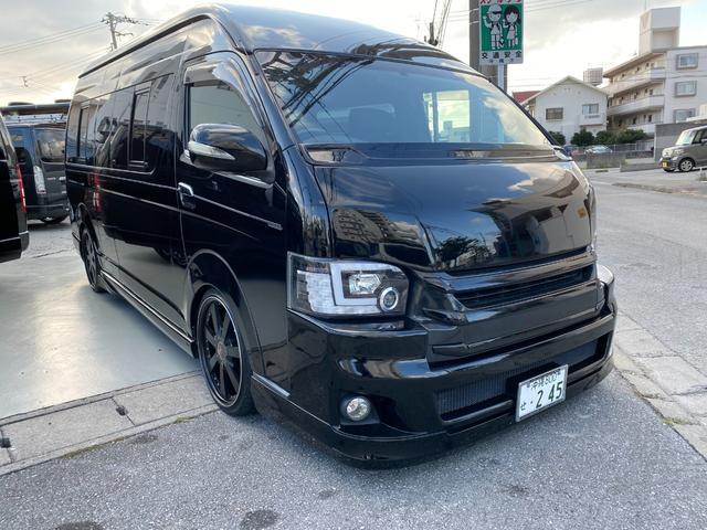 沖縄の中古車 トヨタ ハイエースバン 車両価格 280万円 リ済込 2010(平成22)年 9.6万km ブラック
