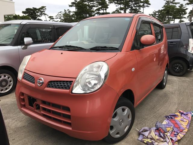 沖縄の中古車 日産 モコ 車両価格 25万円 リ済別 2008(平成20)年 4.6万km モコルージュM