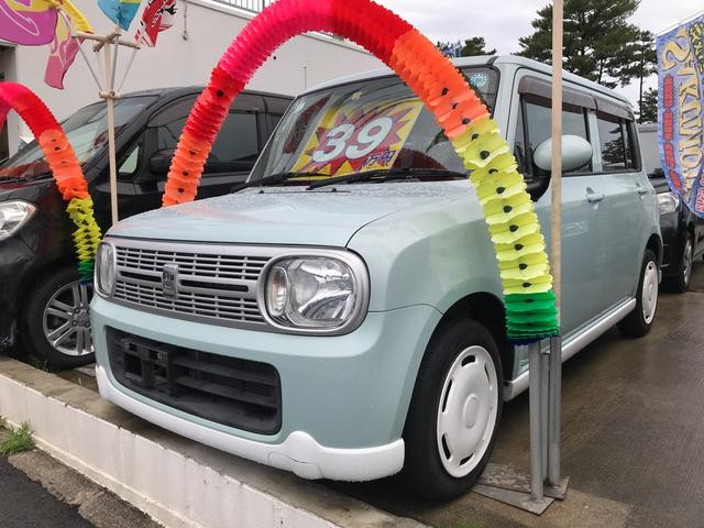 沖縄の中古車 スズキ アルトラパン 車両価格 39万円 リ済別 2011(平成23)年 11.0万km アロマティックアクアメタリック