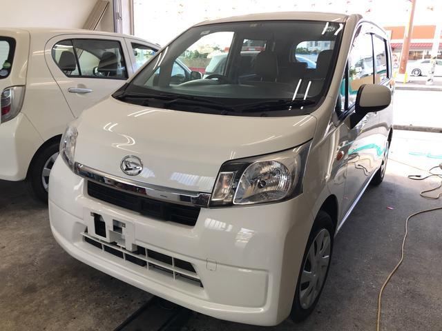 沖縄の中古車 ダイハツ ムーヴ 車両価格 39万円 リ済別 2014(平成26)年 7.8万km ホワイトM