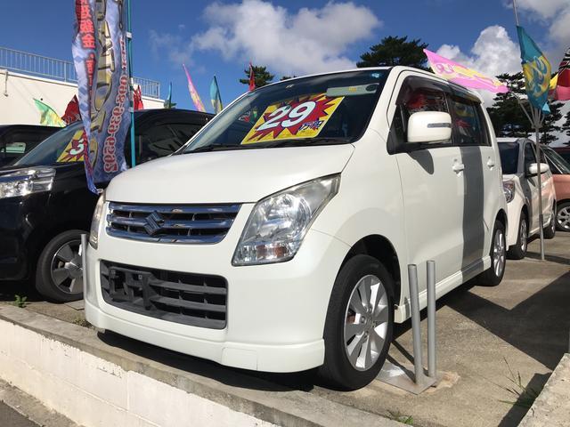 沖縄の中古車 スズキ ワゴンR 車両価格 29万円 リ済別 2010(平成22)年 11.9万km パールホワイト