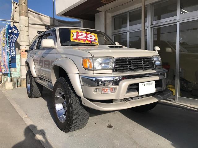 沖縄県の中古車ならハイラックスサーフ SSR-G インタークーラーターボ ワイド