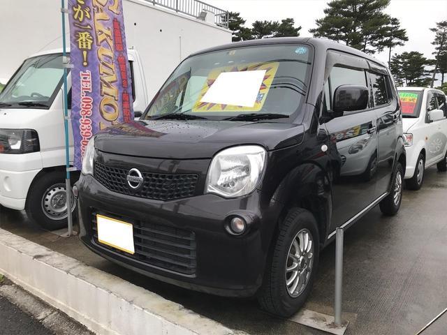 沖縄の中古車 日産 モコ 車両価格 35万円 リ済別 2011(平成23)年 12.1万km アーバンブラウンPM