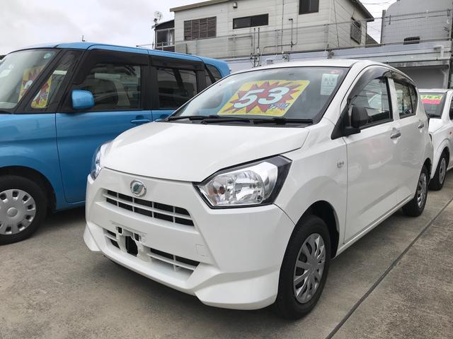 沖縄県沖縄市の中古車ならミライース L アイドリングストップ キーレス CD
