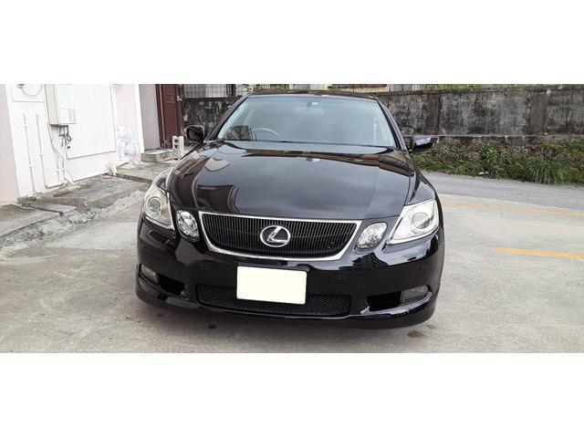 沖縄の中古車 レクサス GS 車両価格 69万円 リ済別 2007(平成19)年 10.9万km ブラックM