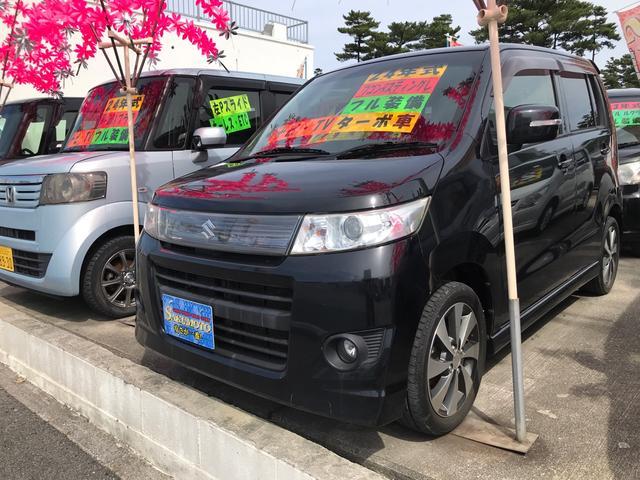 沖縄県沖縄市の中古車ならワゴンRスティングレー T インタークーラーターボ