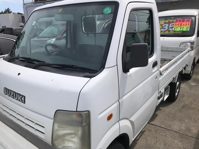 沖縄県沖縄市の中古車ならキャリイトラック KU 5MT エアコン パワステ 2WD