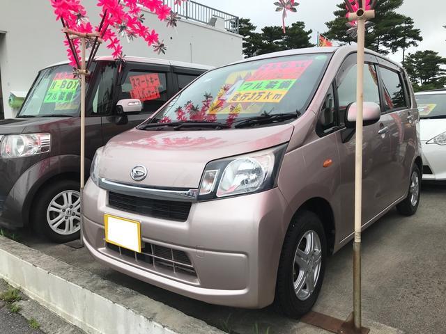 沖縄県の中古車ならムーヴ  キーレス アイドリングストップ ナビ TV Bluetooth