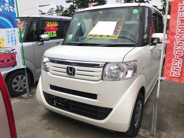 沖縄県沖縄市の中古車ならN-BOX G スマートキー プッシュスタート 両側スライドドア 純正オーディオ
