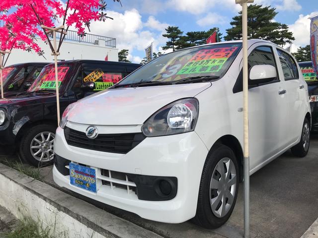 沖縄県沖縄市の中古車ならミライース L キーレス アイドリングストップ ETC Kenwoodナビ