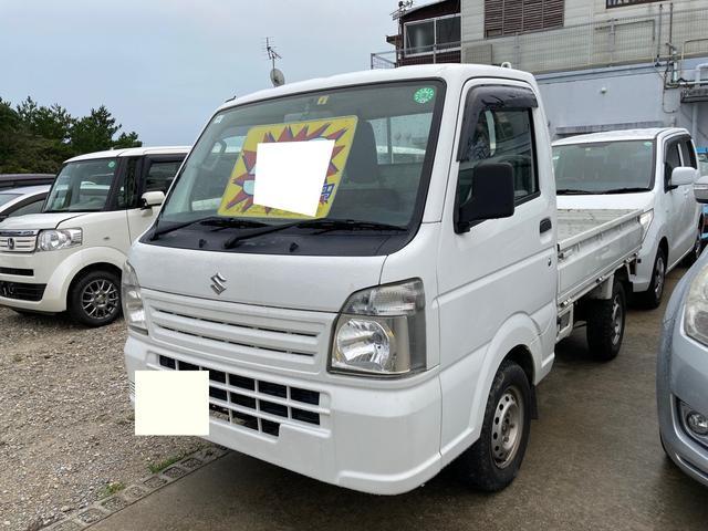 沖縄の中古車 スズキ キャリイトラック 車両価格 53万円 リ済別 2014(平成26)年 13.1万km ホワイト
