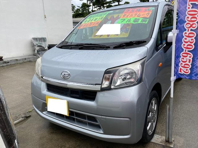 沖縄の中古車 ダイハツ ムーヴ 車両価格 49万円 リ済別 2013(平成25)年 6.6万km ブライトシルバーメタリック