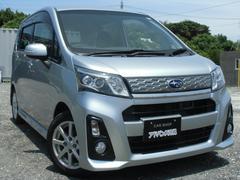沖縄の中古車 スバル ステラ 車両価格 64万円 リ済込 平成25年 7.9万K シルバーM