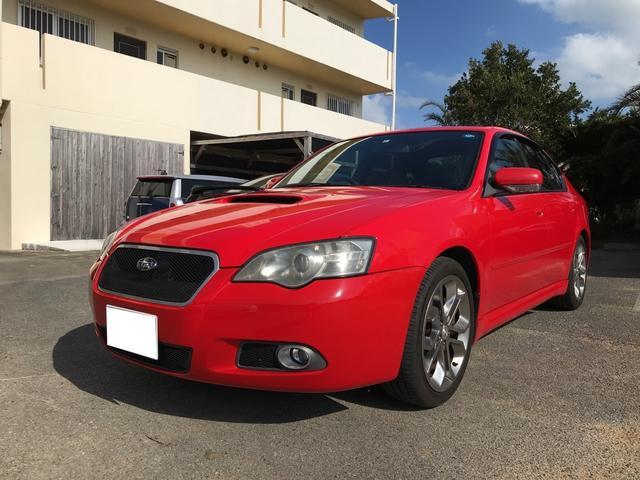 沖縄県の中古車ならレガシィB4 ブリッツェン2006モデル レザーシート 5MT