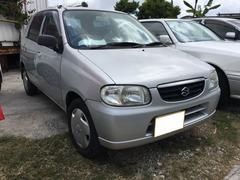 沖縄の中古車 スズキ アルト 車両価格 10万円 リ済込 平成16年 9.4万K シルキーシルバーメタリック