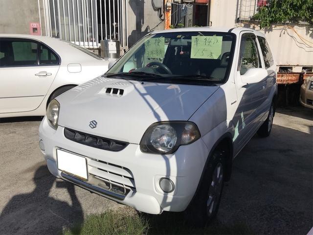 沖縄県の中古車ならKei タイヤ4本新品 スペリアホワイト AT AC 4名乗り