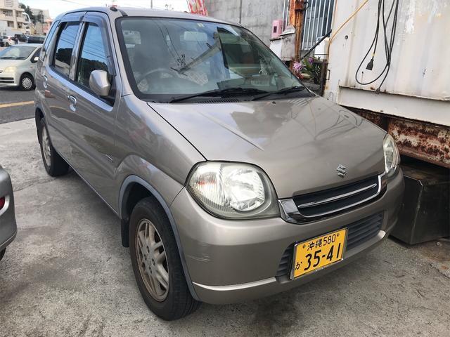 沖縄県の中古車ならKei Aスペシャル 軽自動車 クールベージュメタリック AT AC