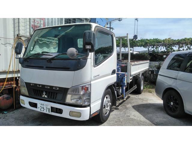 沖縄県豊見城市の中古車ならキャンター クレーン