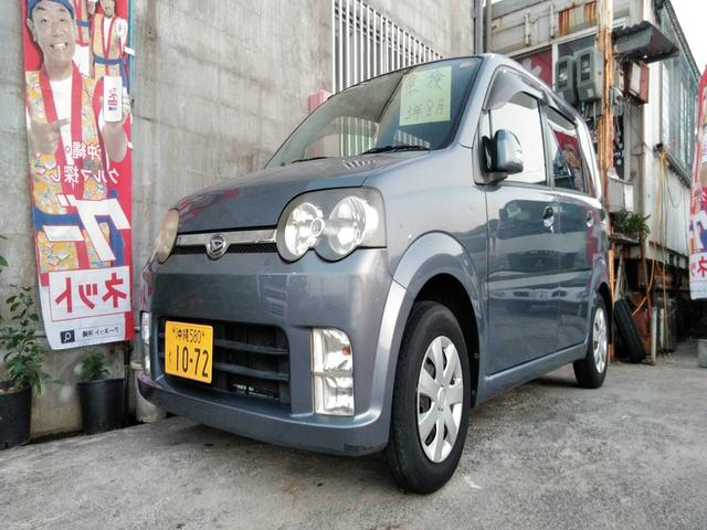 沖縄の中古車 ダイハツ ムーヴ 車両価格 12万円 リ済込 2006(平成18)年 11.7万km グレー
