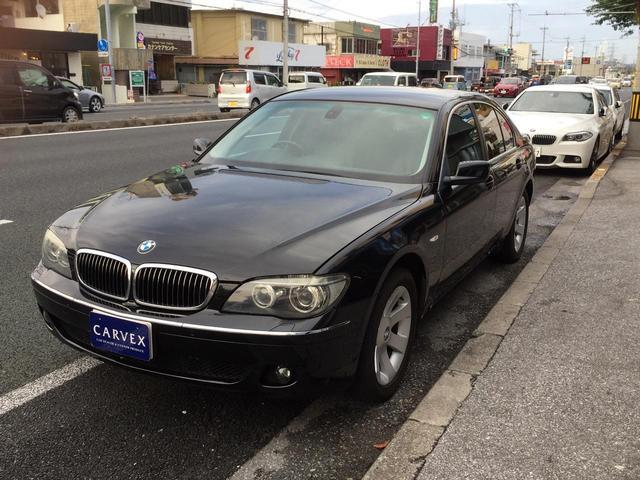 BMW 740i オートクルーズ 純正HDDナビ 黒本革シート