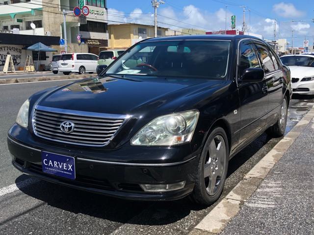 沖縄県の中古車ならセルシオ eR仕様 サンルーフ ブラックレザーシート パワーシート