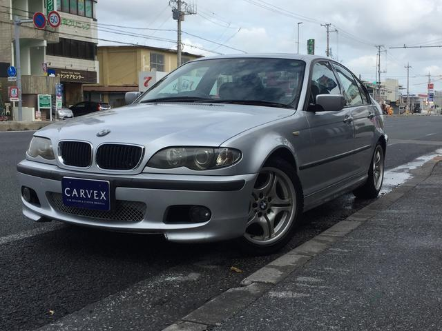 沖縄県の中古車ならBMW 318i Mスポーツパッケージ 社外19インチAW キーレス