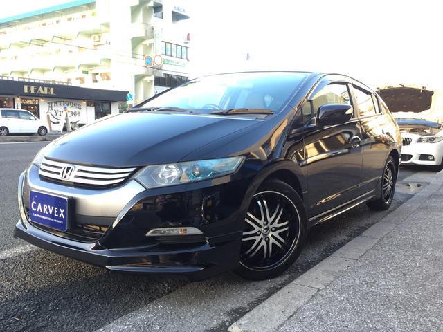 沖縄県の中古車ならインサイト L ナビ TV F・S・Rハーフエアロ 社外17インチAW