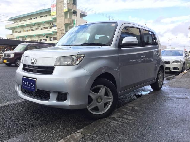 沖縄の中古車 トヨタ bB 車両価格 19.8万円 リ済別 平成21年 11.6万km シルバー