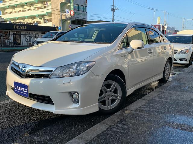 沖縄県の中古車ならSAI S LEDエディション LEDヘッドライト ナビ・TV