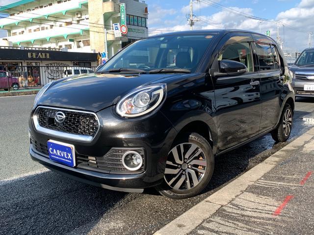 沖縄の中古車 ダイハツ ブーン 車両価格 90.3万円 リ済別 2017(平成29)年 2.4万km ブラックM